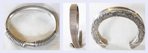 Antique Hmong Silver Jewelry