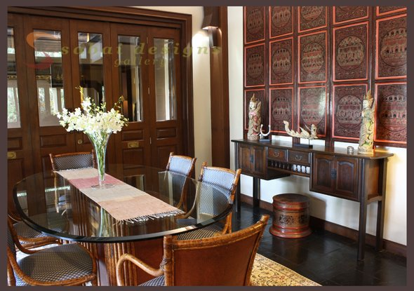 Asian Home Decor - Dining Room